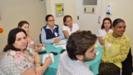 HSI recebe visitas para Workshop sobre o modelo assistencial de enfermagem da ACSC