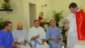 Missa no HSI tem Encenação de Lava Pés