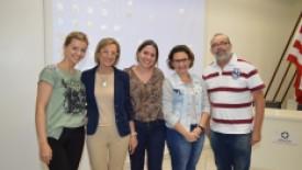 Santa Isabel recebe enfermeira criadora do método líder mundial em doação de órgãos