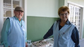 Voluntariado da Saúde e Serviço Social homenageiam os Pais Colaboradores do HSI