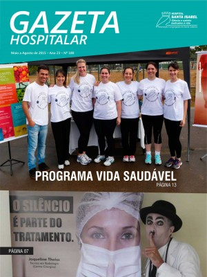 Gazeta Hospitalar - Maio a Agosto 2015