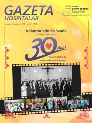 Gazeta Hospitalar - Setembro à Dezembro 2015