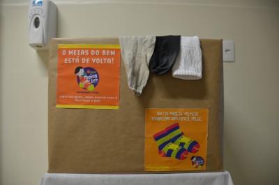Hospital Santa Isabel apoia campanha de arrecadação de meias usadas