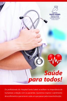 Santa Isabel vai comemorar Dia Mundial da Saúde prestando serviços gratuitos a comunidade