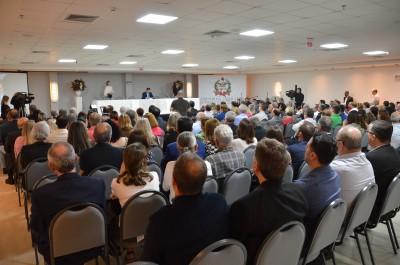 Sessão da ALESC encerra comemorações de aniversário do HSI