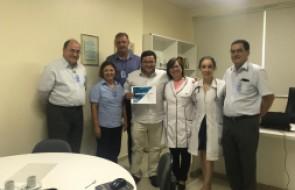 Deputado Ricardo Alba visita HSI