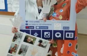 Dia Mundial de Lavagem das Mãos é lembrado com criatividade no HSI