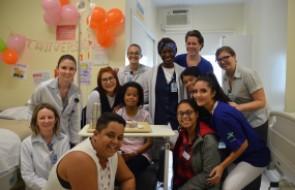 Festa de aniversário surpreende paciente de transplante renal