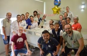 Festa surpresa no Hospital Santa Isabel traz cuidados humanizados ao paciente