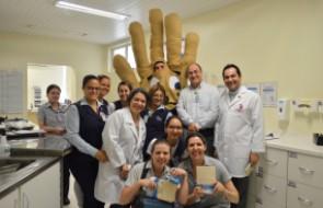 Eleições: ação criativa para a Campanha de Higiene de Mãos