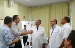 HSI recebe visita de agradecimento pela conquista do milésimo transplante renal