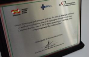 Hospital Santa Isabel e Enfermeira são premiados em evento sobre Doação de Órgãos