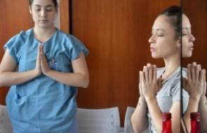 Yoga desenvolve concentração e relaxamento de colaboradores da UTI