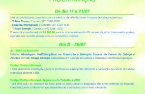 Julho Verde quer conscientizar sobre Câncer de Cabeça e Pescoço