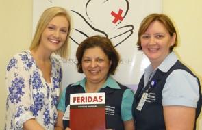 Livro da Editora Martinari lan�ado neste m�s tem participa��o de Enfermeiras do HSI