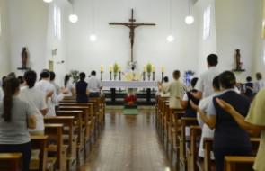 Missa de Natal no Hospital Santa Isabel é celebrada com capacidade limitada