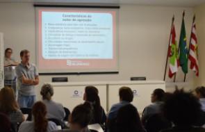 Violência doméstica é tema de palestra para colaboradores do Santa Isabel